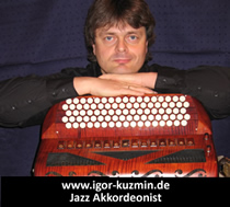 Igor Kuzmin, Jazz Accordeonist